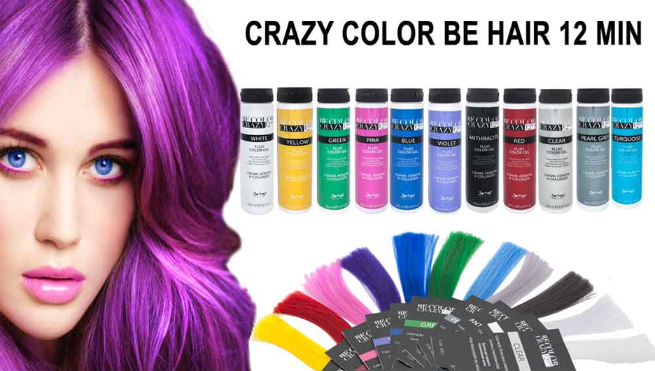 Crazy color Be Hair